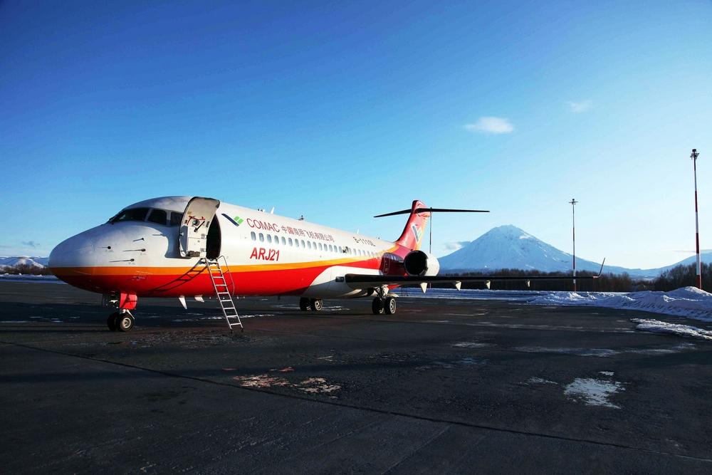 查看图片arj21飞机首次走出国门,自然结冰试飞圆满完成
