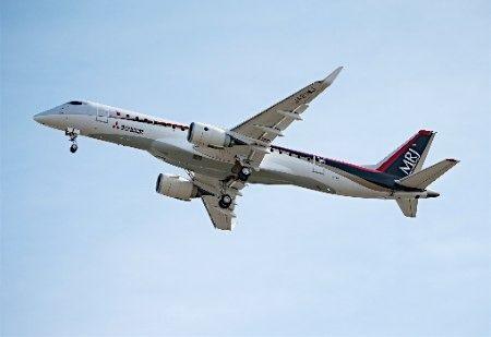 中国商用飞机有限责任公司-日本国产支线客机mrj二次